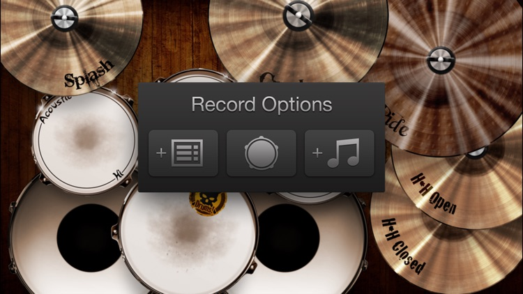 Drums! - A studio quality drum kit in your pocket screenshot-3