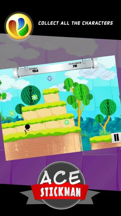 Ace Stickman Jump and Run Game screenshot-3