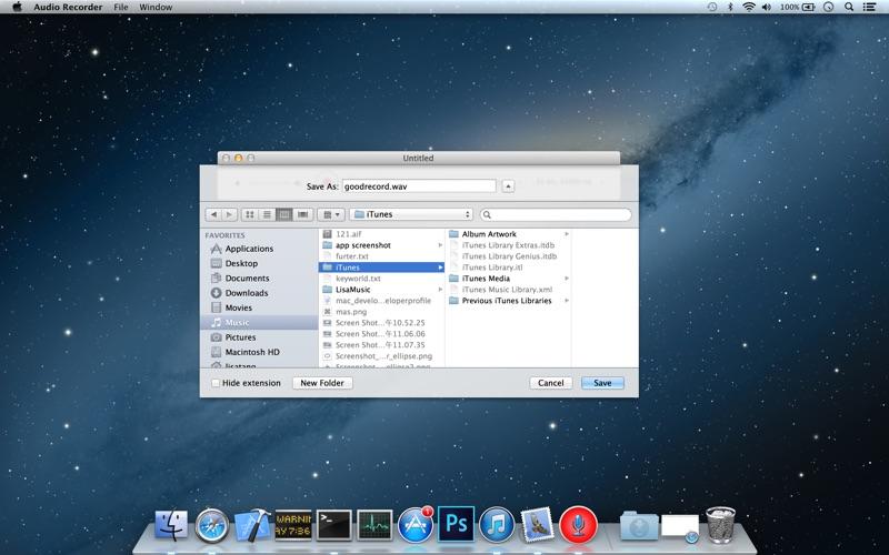 Audio Recorder Lite Screenshot