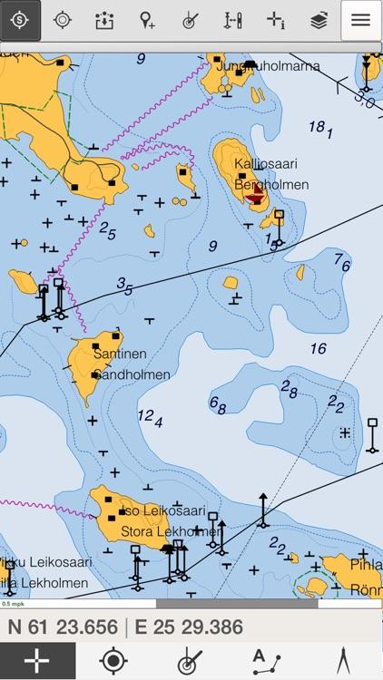Loisto Mobiili Navigointi Ja Karttaohjelma By Karttakeskus Oy
