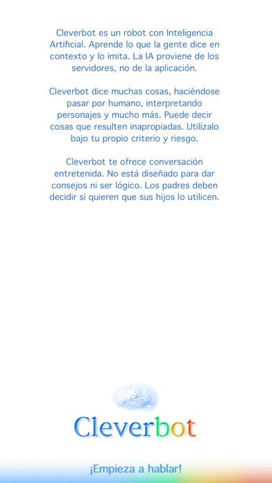 CleverbotCaptura de pantalla de5