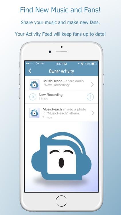 MusicReach - The Music Social Network