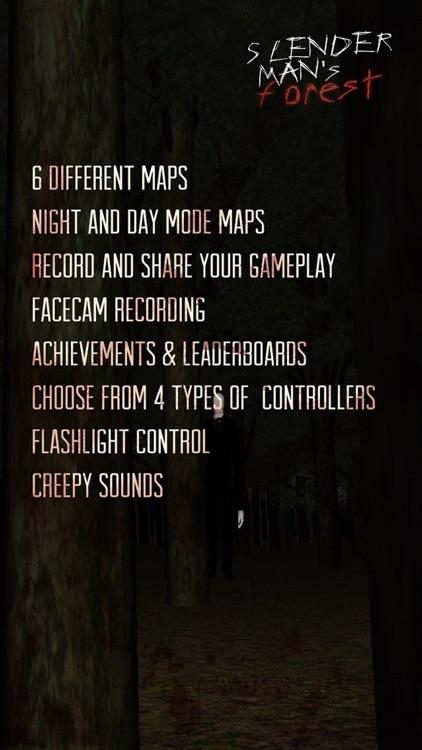 SlenderMan's Forest screenshot-4