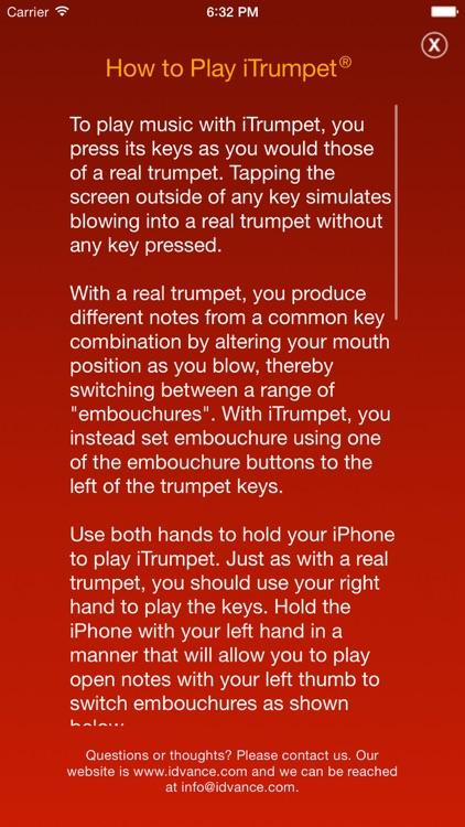 iTrumpet screenshot-4