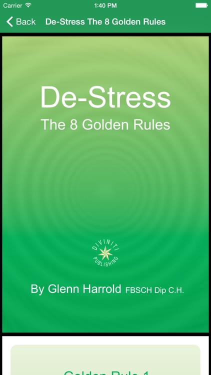 Deep Relaxation Hypnosis AudioApp-Glenn Harrold screenshot-4