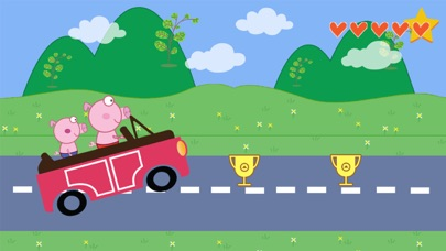 The Car Peppie Pinky Pig screenshot one