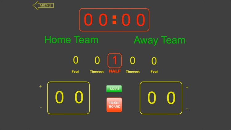 ScoreKeeper Scoreboard - iPhone screenshot-4