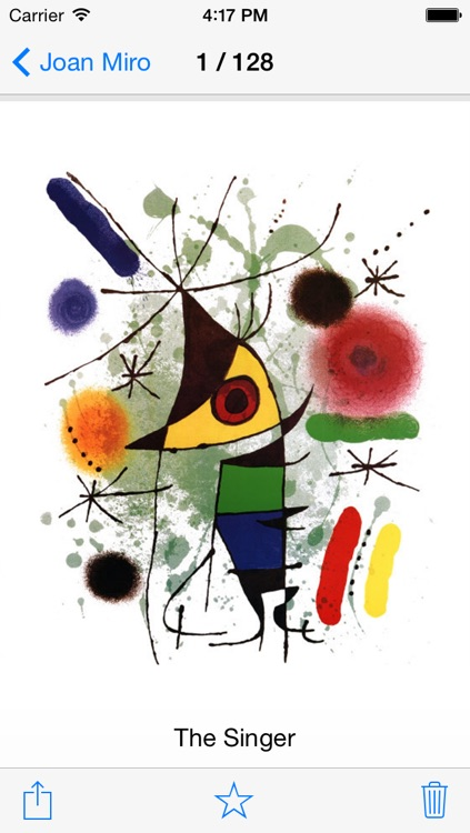 Joan Miró 128 Paintings HD Ad-free (Joan Miro) screenshot-1