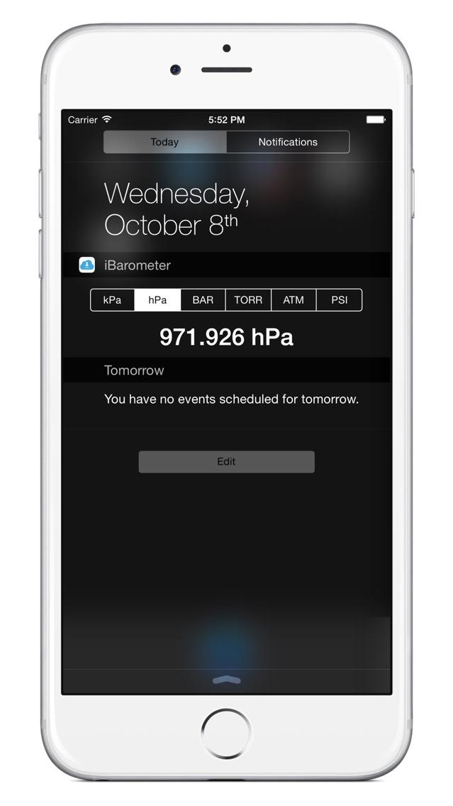 iBarometer - für iPho... screenshot1