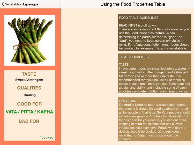 Dosha Diet: Ayurveda Food Planner screenshot-4