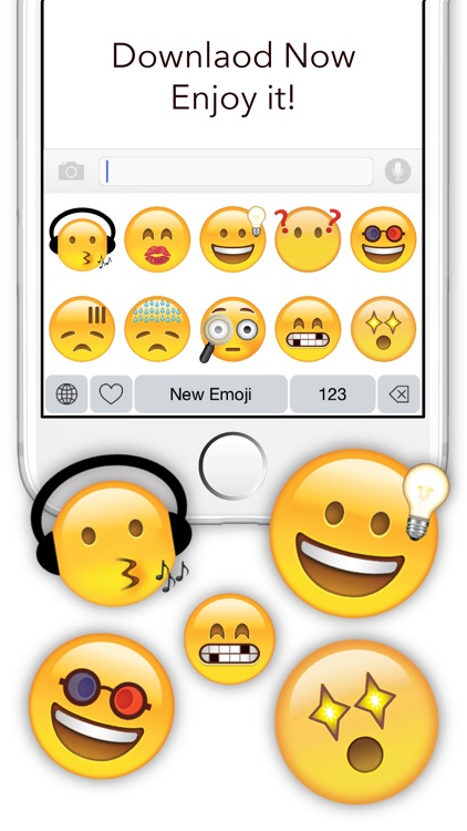 New Emoji - Extra Emojis Keyboard screenshot-4