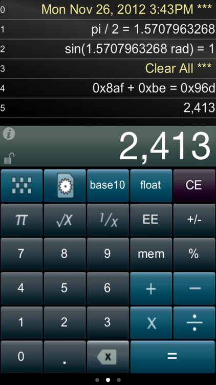 Paper Calc for Coders screenshot-0