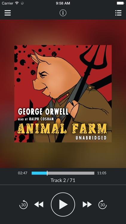 Animal Farm (by George Orwell) (UNABRIDGED AUDIOBOOK)