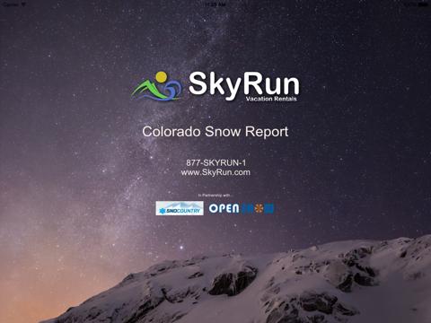 Colorado Snow Report screenshot