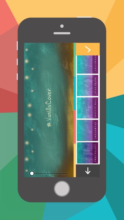 VanillaCover – Cover Photo maker screenshot-4