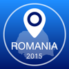 Romania Offline Map + City Guide Navigator, Attractions and Transports