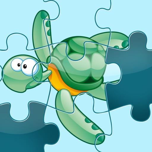 Активный! Головоломки С Животными Моря Для Детей Дошкольного Возраста И Их Родителей