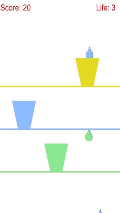 用玻璃杯收集七彩雨滴免费