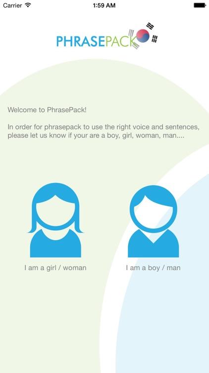 Korean Phrasebook - Travel in Korea with ease screenshot-4