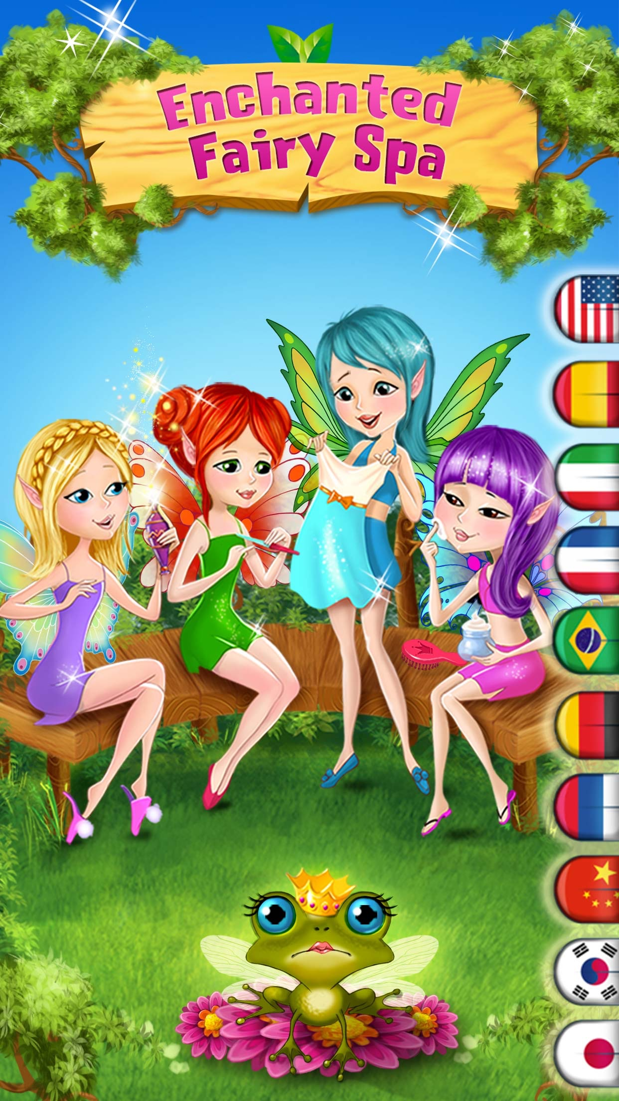 Enchanted Fairy Spa : Pixie Magic Makeover Screenshot