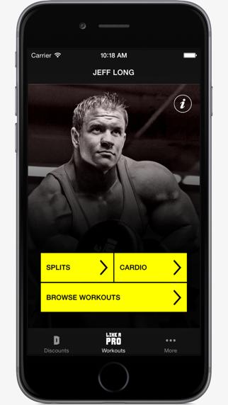 Like A Pro Bodybuilder - Bodybuilding app & workout plans by IFBB Pro Jeff Longのおすすめ画像2