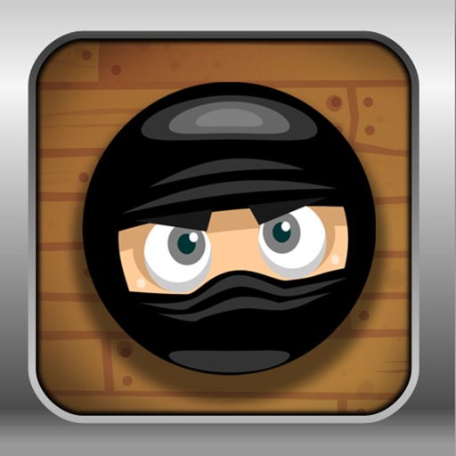 Angry Ninja Ball Escape Plus icon