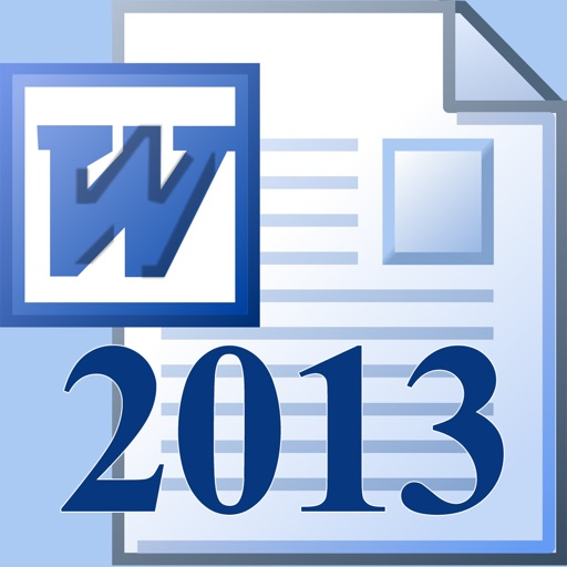 Easy To Use - Microsoft Word 2013 Edition icon