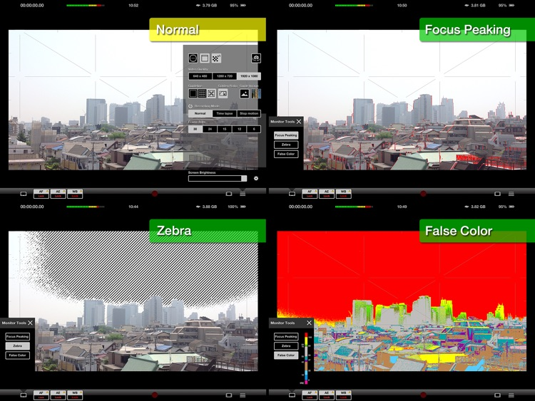 HEx (cam) HD - Video Recording + Time Lapse + Stop Motion - screenshot-4