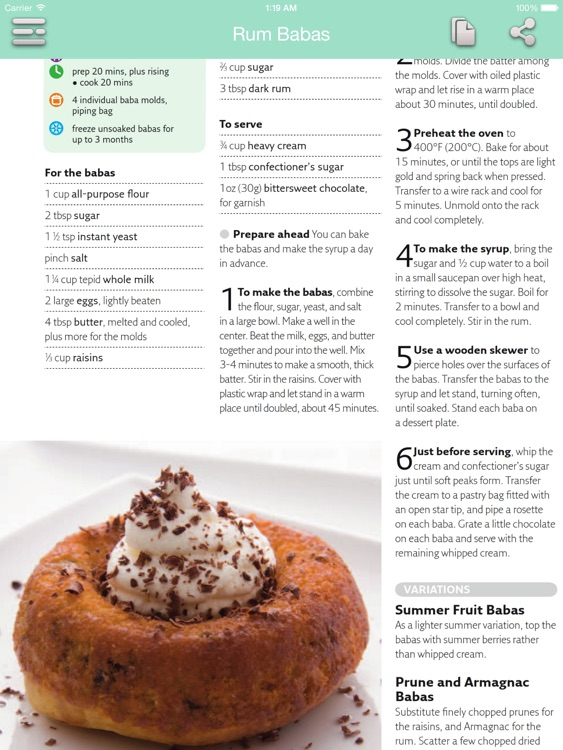 Dessert Recipes - Quick and Easy for iPad screenshot-3