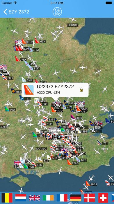 London Luton Airport - iPlane Flight Information screenshot three