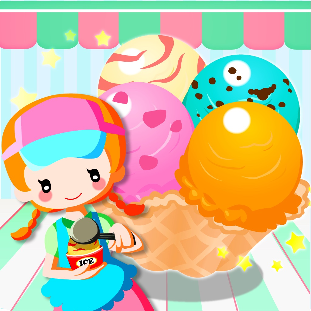 アイスクリームコレクション-レシピを集めてお店を育成![無料]