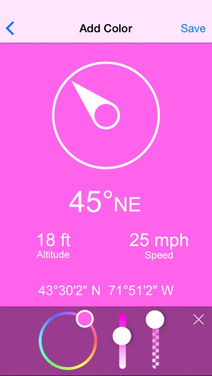 Compass Zen - Minimalist compass with altimeter, speedometer, and more screenshot-2