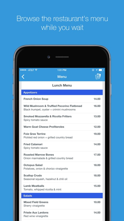 The List - Restaurant Wait list and Booking App screenshot-3