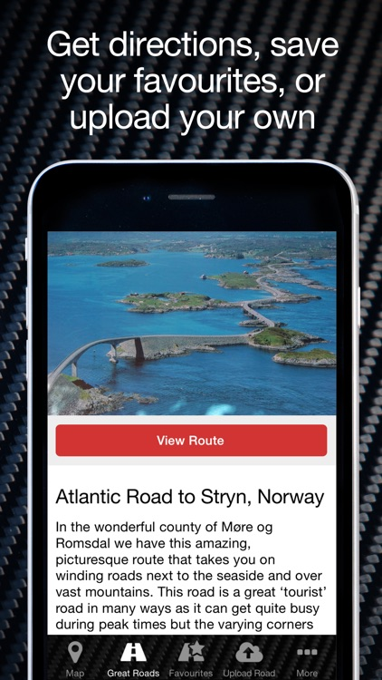 Great Driving Roads: the world's best driving routes for car and motoring enthusiasts screenshot-3