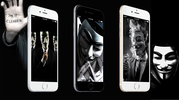 HD Wallpaper Anonymous Hacker screenshot-4