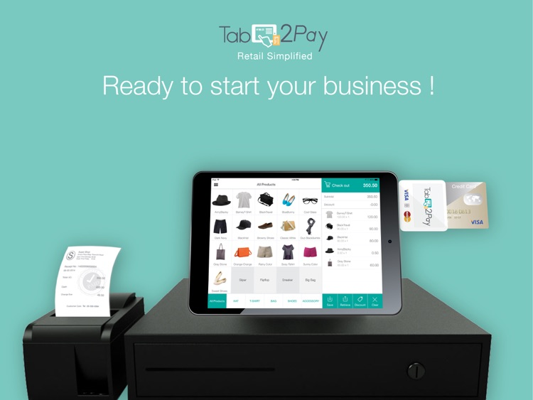 Tab2Pay POS-Retail Simplified
