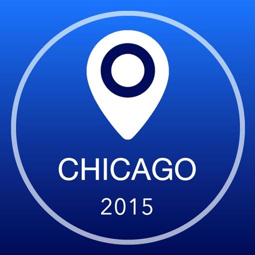 芝加哥離線地圖+城市指南導航,旅遊和運輸