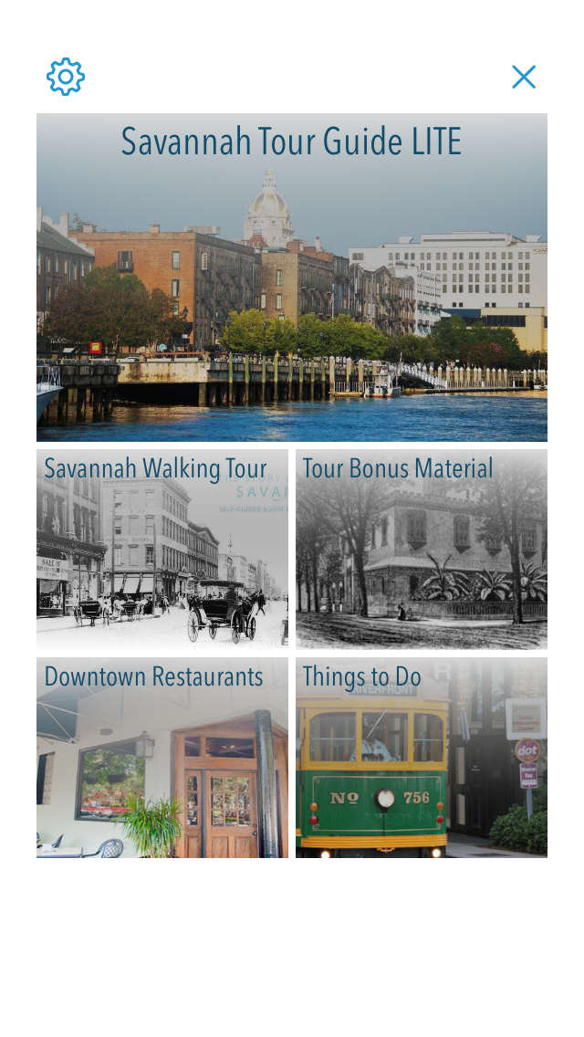 LITE: Savannah Walking Tour screenshot one