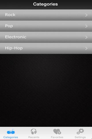 My Music Radio - náhled