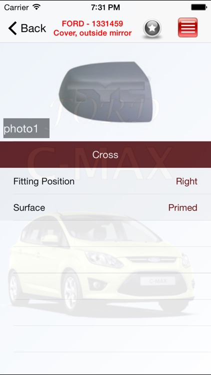 Autoparts Ford C-max screenshot-3