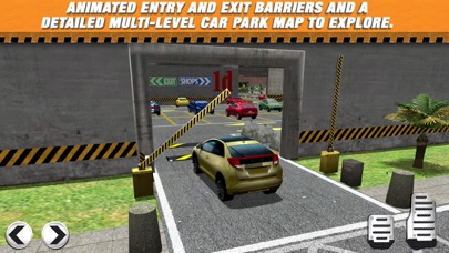 Screenshot from Multi Level 2 Car Parking Simulator Game - Real Life Driving Test Run Sim Racing Games