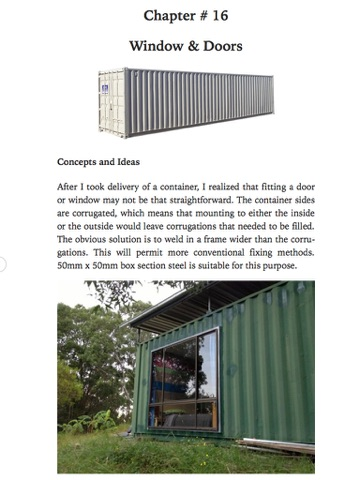 How to Build Off-Grid Shipping Container House - Part 1 by Paul ...