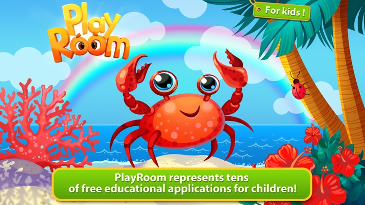 PlayRoom FREE - learning games and puzzles for kids screenshot-0