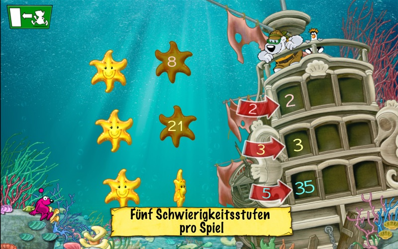 Deutsch und Mathe 2. Klasse: Emil und Pauline in der Tiefsee - Rechnen und Lesen für die Grundschule screenshot 4