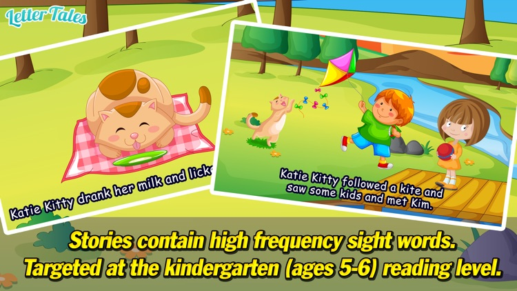 Letter Tales - Learn to Read and Write with Short Alphabet Stories for Kids screenshot-3