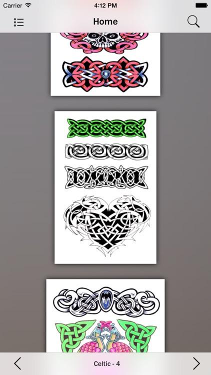 Celtic Tattoos Guide screenshot-3