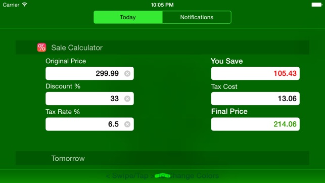 sale calculator price w tax clearance discounts をapp storeで