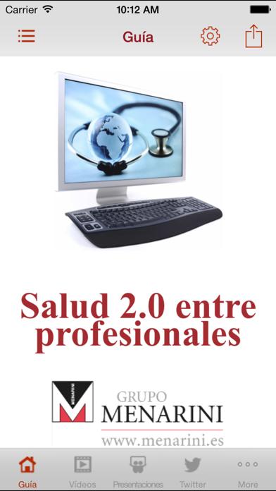 Salud 2.0 entre profesionales screenshot one