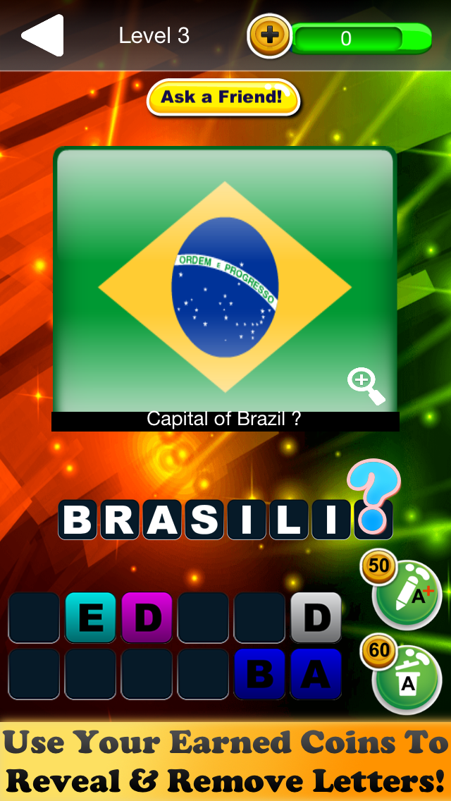 Quiz Pic World Capitals – Famous Cities Testing Game 3