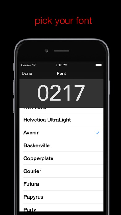 Nite Time - a simple night clock for your nightstand with flashlight screenshot four